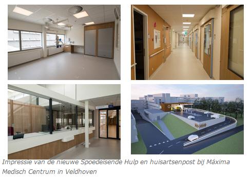 Vernieuwde Huisartsenpost en SEH hand in hand in MMC Veldhoven