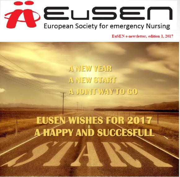 Nieuwsbrief 1 van 2017 van de EuSEN is uit