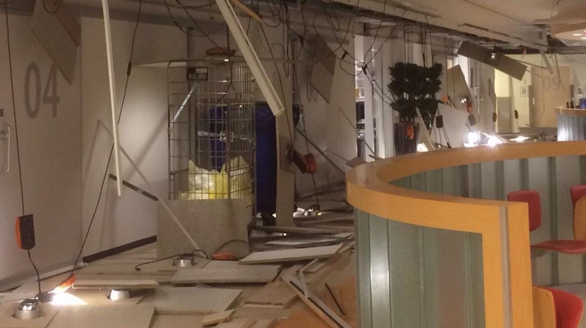 Plafond ingestort op de SEH VieCuri in Venlo