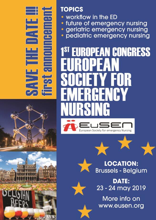 Eerste europese EuSEN congres voor SEH verpleegkundigen